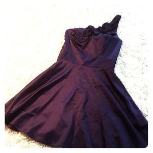Gorgeous one shoulder cocktail dress. NWT